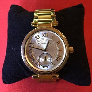 Michael Kors Women's Skylar Champagne Dial Watch